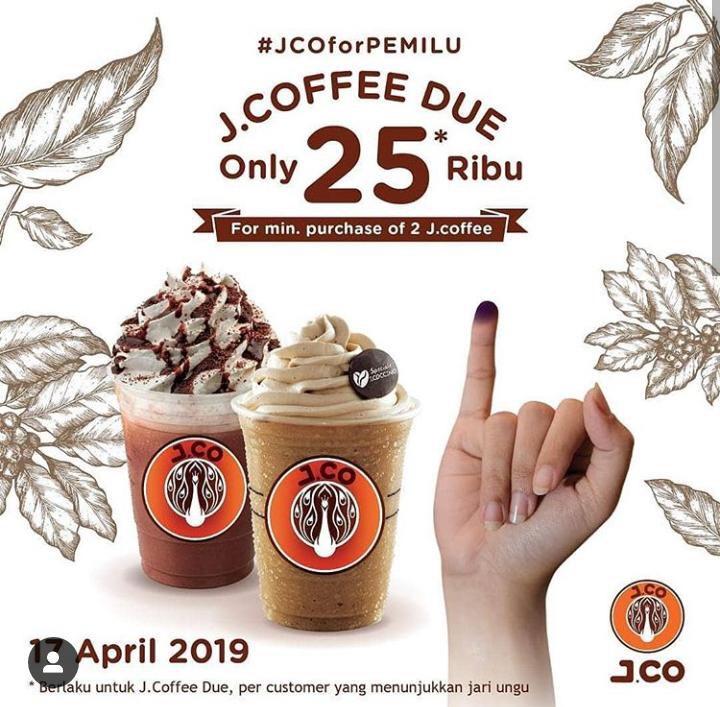 Ayo datang ke TPS karena suaramu penting untuk masa depan Indonesia. Abis itu banyak pilihan promo menantimu 😊 Part 1/4 #Pemilu2019 #promopemilu #SiapapunPresidennya https://t.co/l8PBU2MXoV