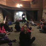 Image for the Tweet beginning: 6th graders at Camp Timberlee