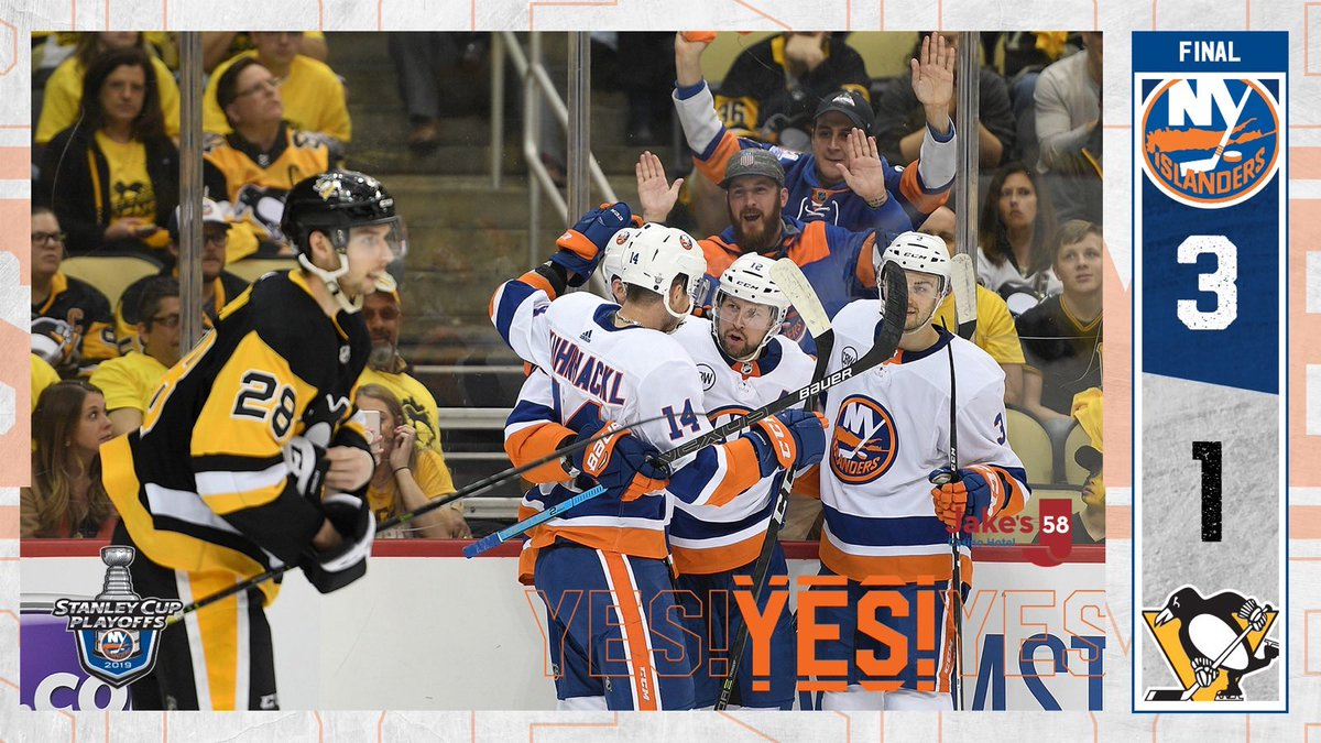 GAME OVER!   #ISLES SWEEP THE SERIES!!! #YesYesYes