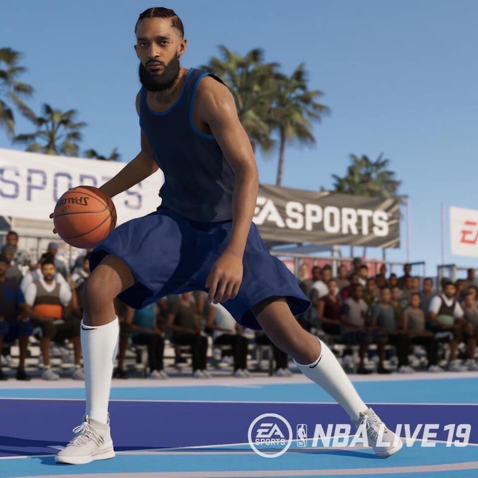 Respect! but we still ain't buying NBA Live