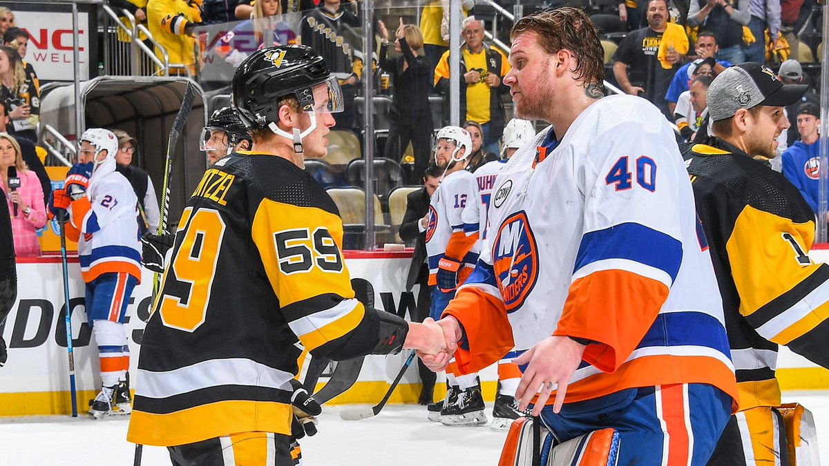 Congratulations to the @NYIslanders. All the best the rest of the way.  We'll see you next season.