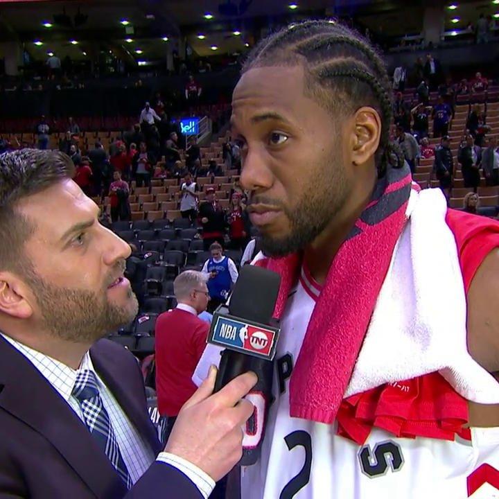 NBA on TNT's photo on Kawhi Leonard
