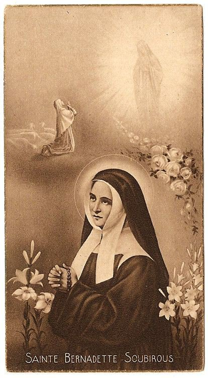 Today was a very special feast day that reminded us of giving totally of ourselves with trust &amp; love. Good night blessings my friends. See you tomorrow.  Our Lady of Lourdes, pray for us. St. Bernadette, pray for us. #PrayTheRosary<br>http://pic.twitter.com/YVnV3LZH9C
