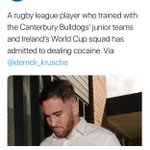 The putrid Daily Telegraph. Headlines 'star rugby league player. @dailytelegraph disgrace. He trained with the Bulldogs junior teams. Boycott this piece of shit paper @nrl Are you running any other stories on what junior sports all criminals played #boycottTheDailyTelegraph