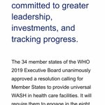 Image for the Tweet beginning: #WHA72 in May - why
