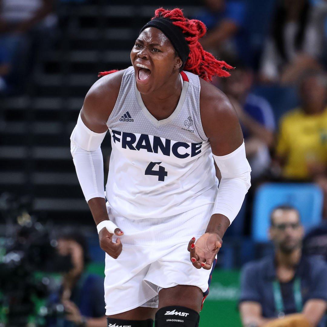 #HappyBirthday to the @FRABasketball's 🇫🇷 legendary @shaqoubou ! Enjoy your day 🎂🎈! #EuroBasketWomen