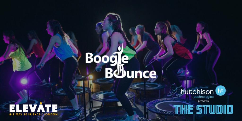 Image for Hutchison Technologies are happy to announce that @BoogieBounceXtr will be joining us at @elevatearena in our Studio. Sign up to meet the team at #Elevate on the 8th & 9th May 2019 https://t.co/HO7bbNncXL #Elevate19 #WorkoutWednesday #healthandfitness