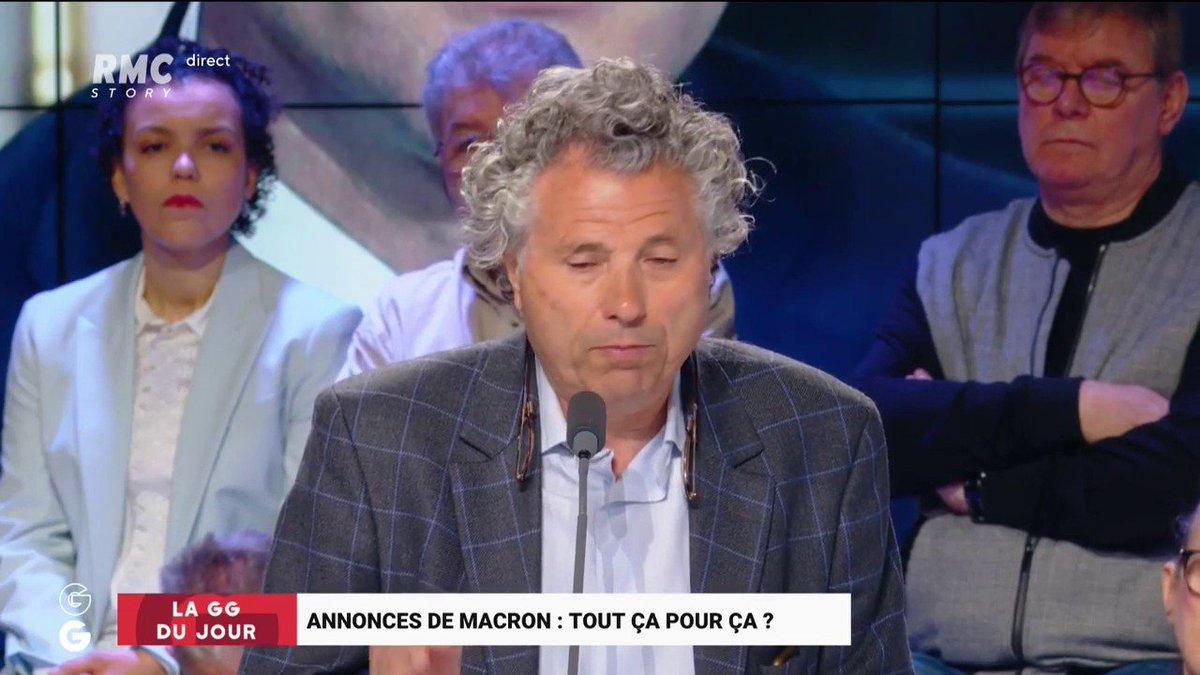 Les Grandes Gueules's photo on #Macron