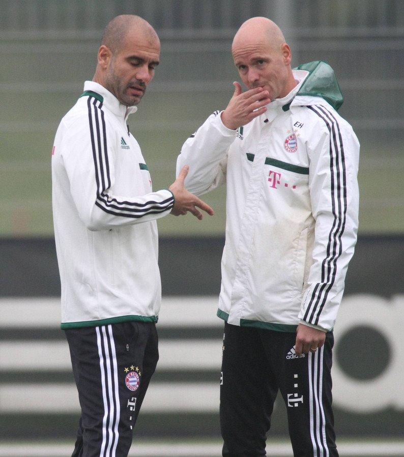 Habib Beye's photo on Guardiola