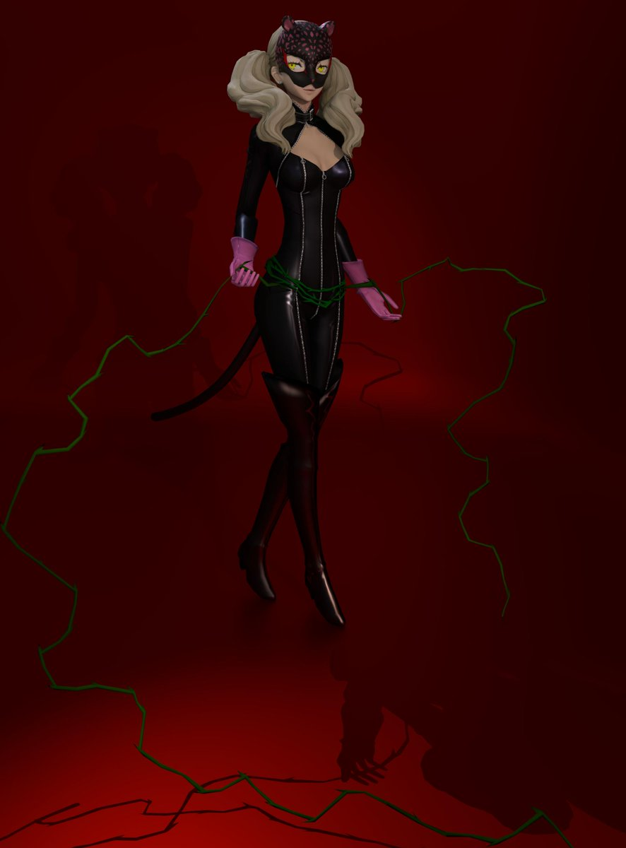 Shadow Anne Phantom Outfit #Persona5 #AnnTakamaki #Blender3d #Cycles <br>http://pic.twitter.com/fxUwq5BXth