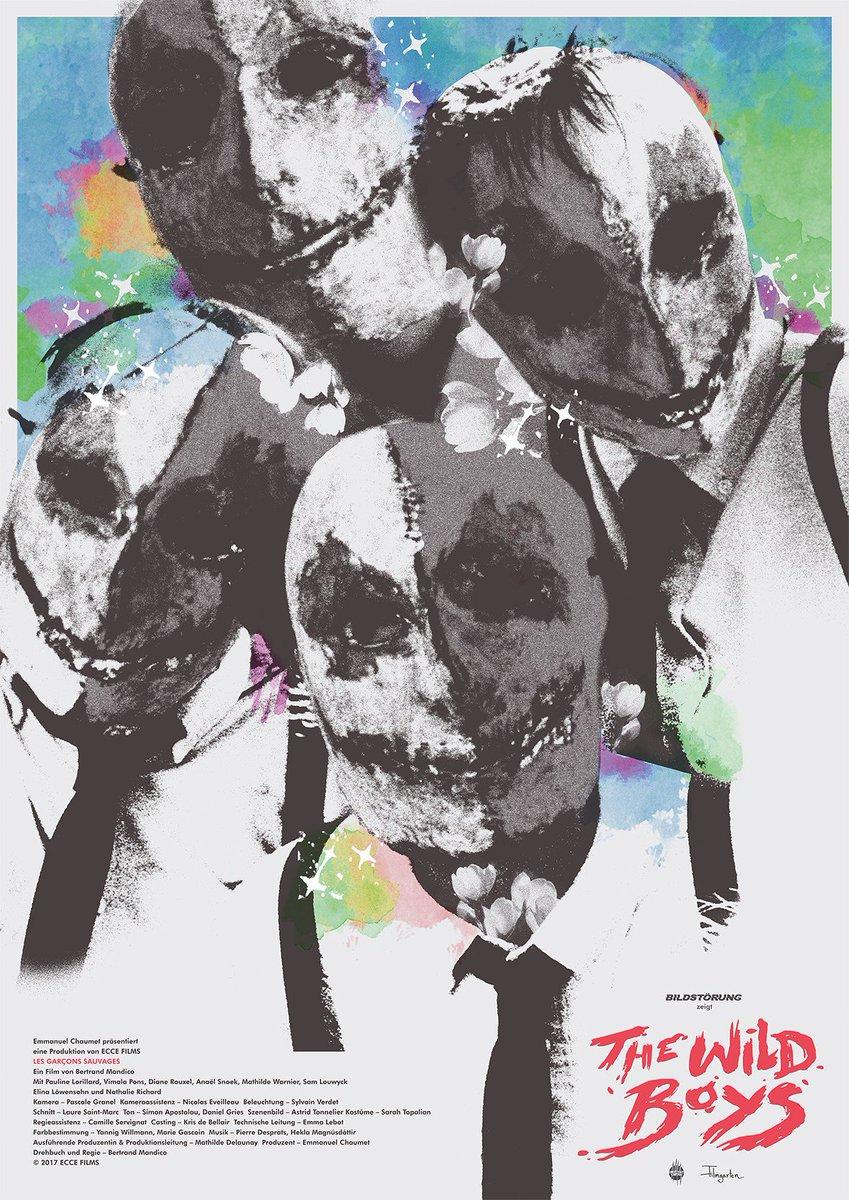 """Neu im Verleih: THE WILD BOYS (Les garçons sauvages) von Bertrand Mandico.  """"Ein schmutzig-süßer erotischer Traum."""" @FilmComment  Sommer '19 im Kino. #BertrandMandico #LesGarconsSauvages #TheWildBoys"""
