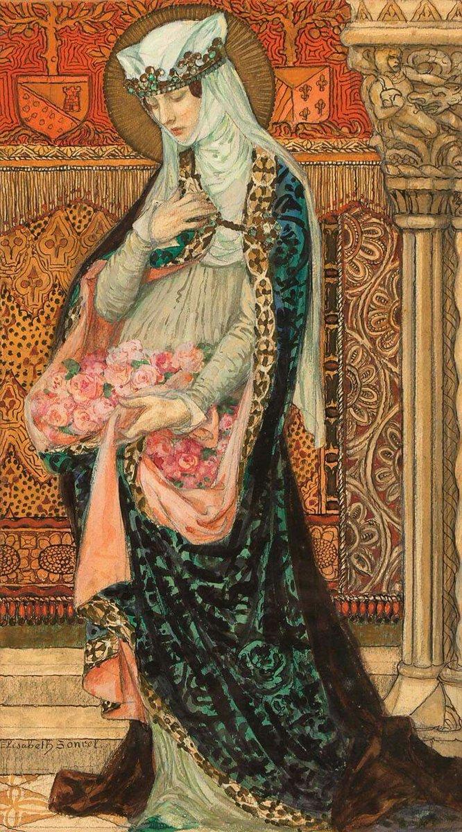 🎨 Elisabeth Sonrel (artiste peintre française, 1874 - 1953)
