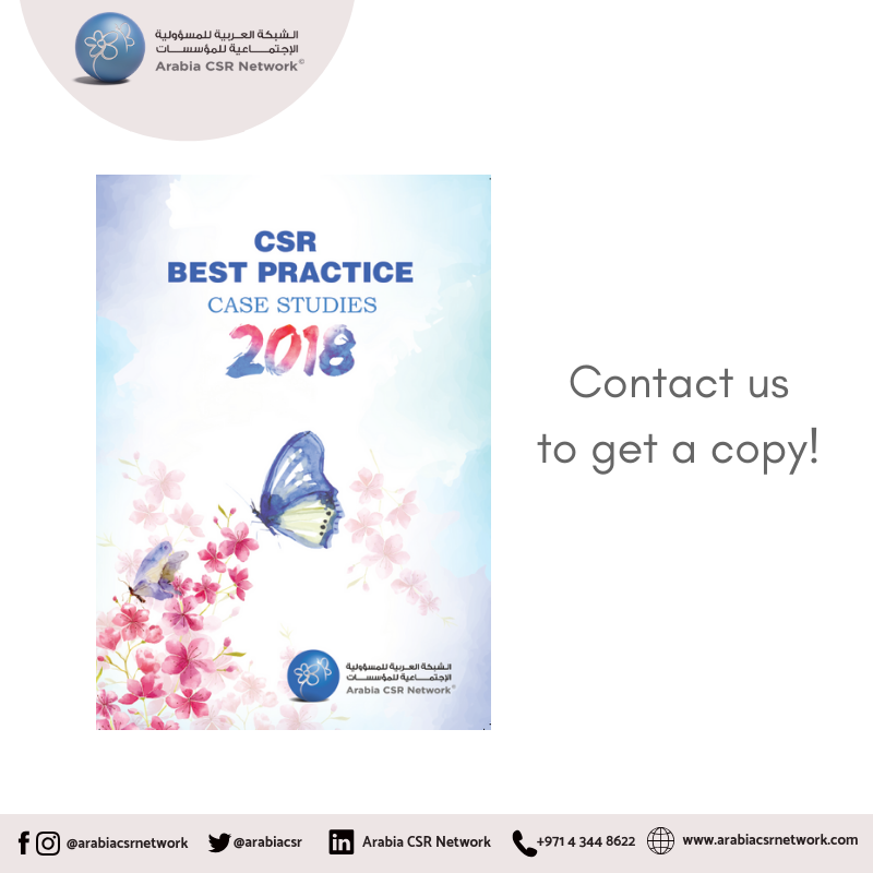 #ACSRN CSR Best Practices, a compilation of recognizable best practice and leadership cases in CSR and Sustainability, is now available!  Contact us and grab a copy from our office.  #BestPractices #CSR #Sustainability #ArabiaCSRNetwork #ACSRN #Publication #leadership