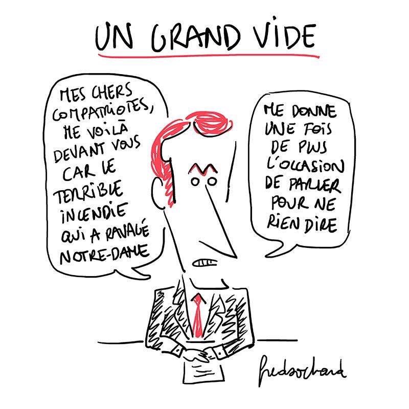 Intervention de @EmmanuelMacron: Le Grand Vide, par @FredSochard. #Macron20h <br>http://pic.twitter.com/gOiD9vfkQD