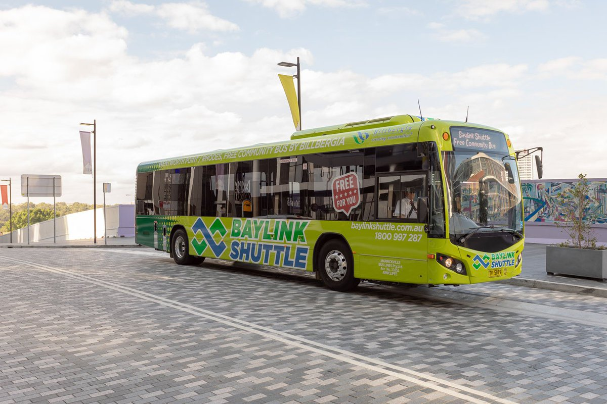 [media release] https://t.co/UFP4Voi48M We've launched a 3-month trial #Newington service. Read all about it in the media release and check out the new live bus tracking feature on the Baylink Shuttle website. 😎 #baylinkshuttle #billbergia #connectingcommunities