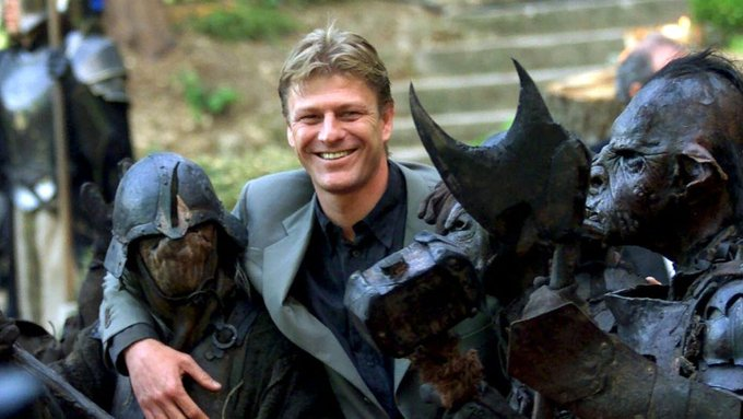 A big birthday for biggest star  Happy 60th to our very own Sean Bean.
