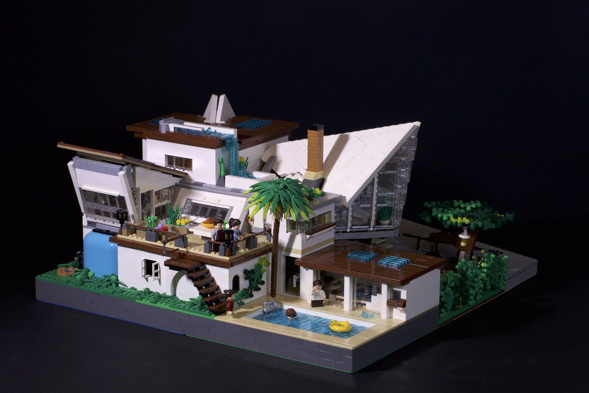 07909afb56d Are you on the market for a new home for 4  Then check out today s   LEGOIdeasStaffPick  Everholm   A Modern House by JoshFromLL.
