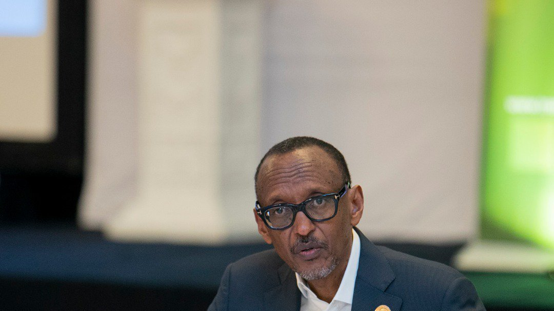 """H.E #Kagame """"After 1994, everything was a priority and our people were completely broken. But we made three fundemental choices that guide us to this day. One-We chose to stay together. Two-We chose to be accountable to ourselves. Three-We chose to think big"""". #Kwibuka25"""