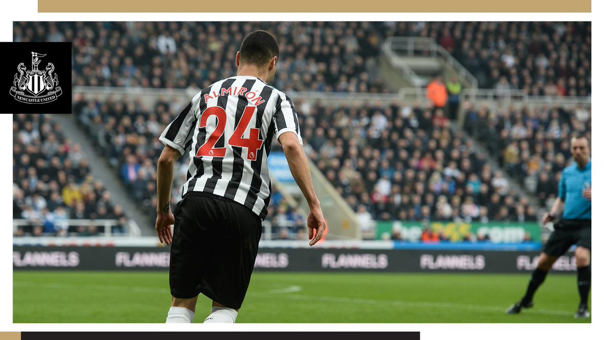 Fancy winning a signed match worn Miguel Almiron shirt and two hospitality tickets to Saturday's game against Southampton?   Thanks to our partners @eToro, you can!   Just re-tweet this post before 12pm on Thursday, 18th April to be in with a chance. #NUFC