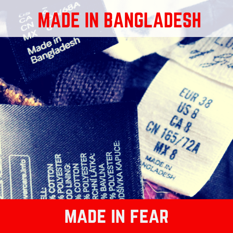 The Rana Plaza anniversary is a week from now: 6 years on, #Bangladesh faces the worst worker repression in 2 decades & the sole progress made is at risk. Follow us the next 6 days for 6 facts & 6 ways in which you can support workers in their fight for #FreedomSafetyLivingWage!