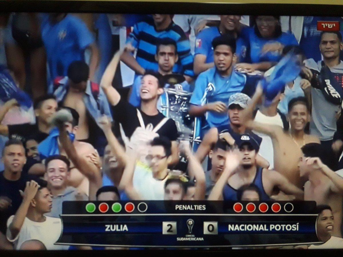 תוצאה דרום אמריקאית בסיבוב הראשון של הסודאמריקנה: סוליה (ונצואלה): 2 - נסיונאל פוטוסי (פרו): 0. בפנדלים