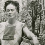 Image for the Tweet beginning: Frida Kahlo's garden is still