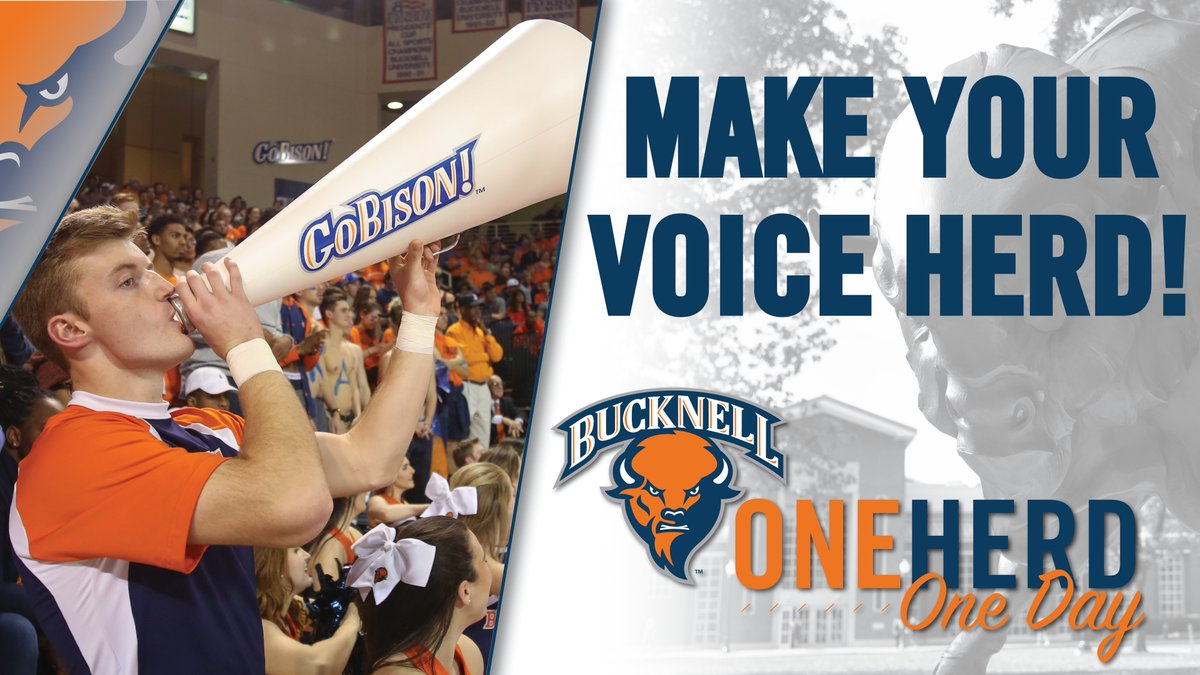 We were known as a second-half team this season. Let's rally in the final three hours of #OneHerdOneDay! #rayBucknell #TheBisonWay  Make your gift now: https://www.givecampus.com/schools/BucknellUniversity/one-herd-one-day#advocates…
