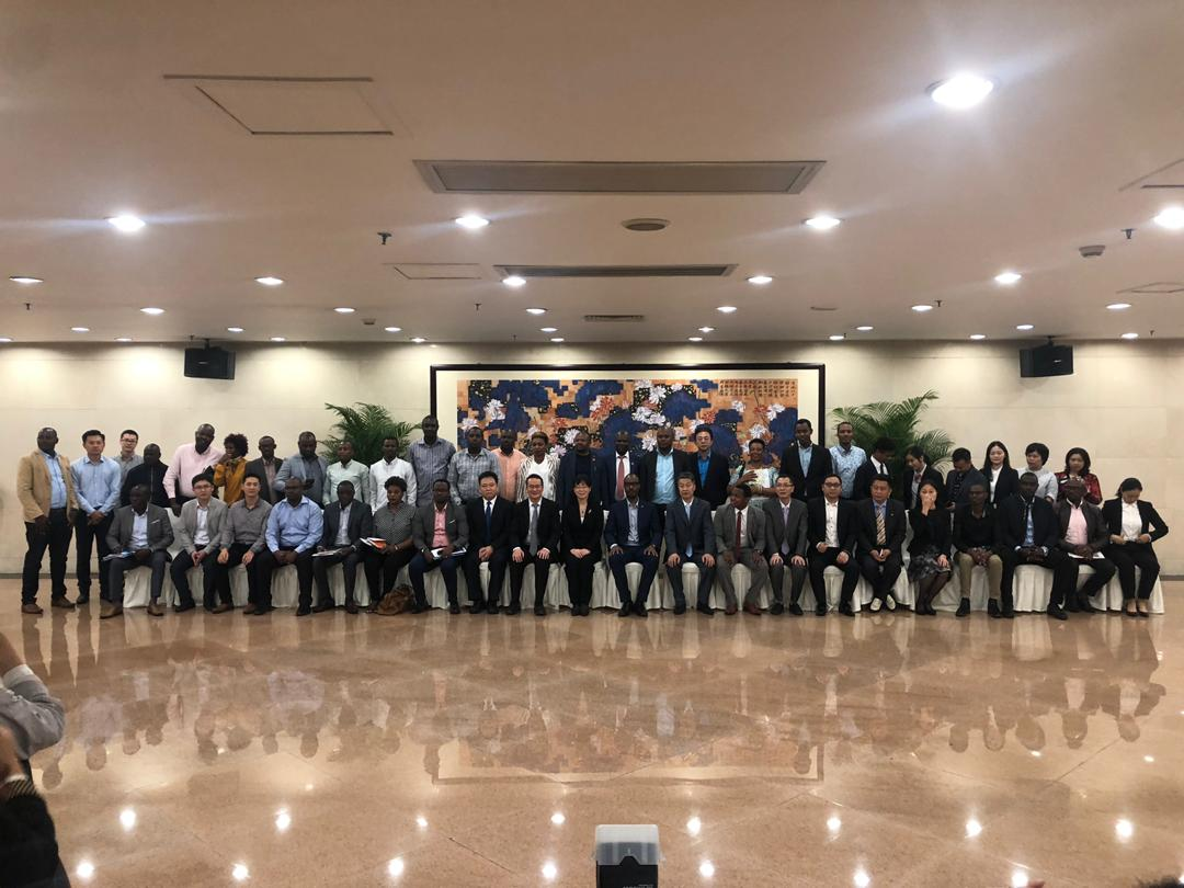 A delegation of our members (30) from different sectors are currently in #Guangzhou-China to participate in the Canton Fair one of the biggest Trade Fairs in the World .