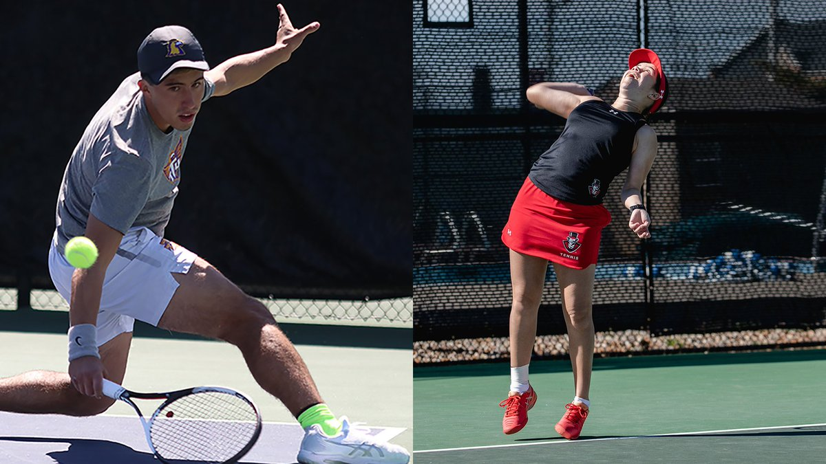 OVC Tennis Players of the Week for April 17:   Male: @TTUGoldenEagles Rafael Tosetto   Female: @letsgopeay Claudia Yanes Garcia   http://bit.ly/2Gn1UG4
