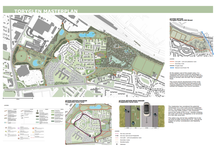 The North Toryglen Greenspace & Active Travel Designs are live on our website until April 30th! Please take a look & give feedback through the online form https://www.urbanroots.org.uk/workshops/northtoryglen/… Thanks to @SustransScot @GI_Scotland @clydegateway @LUCtweeting @GlasgowCC @GlasgowHousing 🌳🚴♀️🦋🌺👟