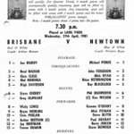 #toothcup 1981@QLDmaroons v @newtownrlfc Look at these two sides Kick Off 730Coverage Starts 830 @Channel10AU 4 Quarter Rugby League Beetson v Ryan