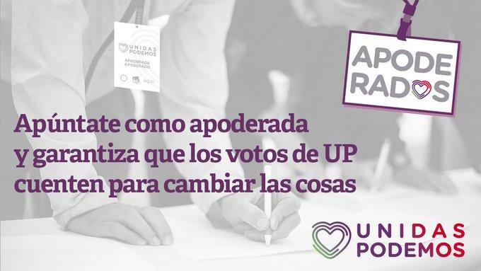 #ApodérateUnidasPodemos Foto