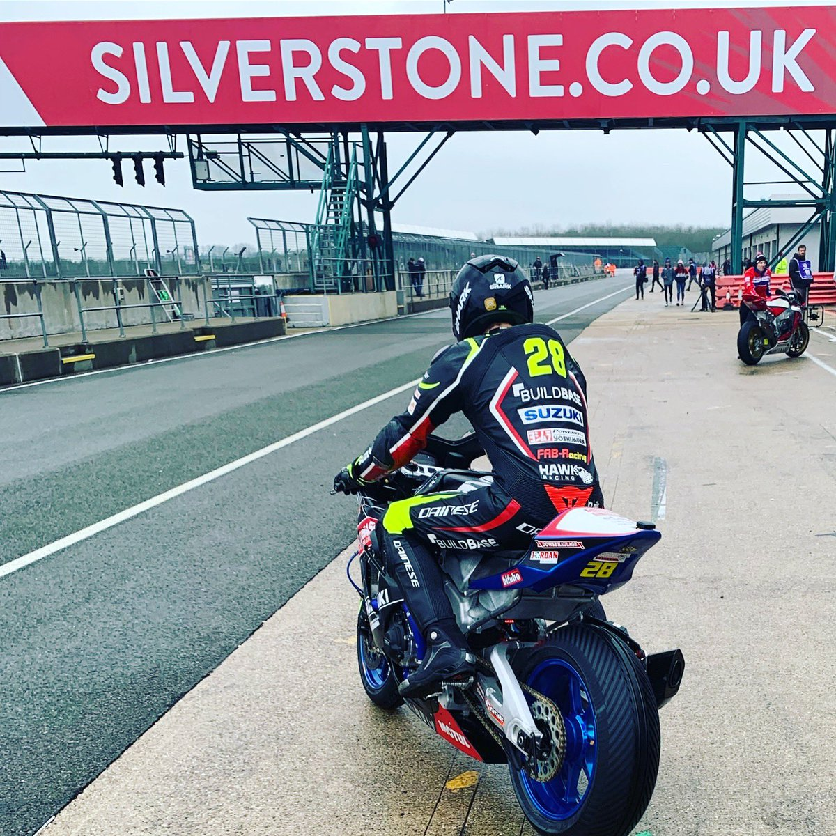 There's only one place we're heading to today... SILVERSTONE    #silverstonebsb #bsbready #hawkracing #buildbasesuzuki #silverstone #bikeracing #bsb #bsb2019 #britishsuperbikes<br>http://pic.twitter.com/fRlWVxP2uy