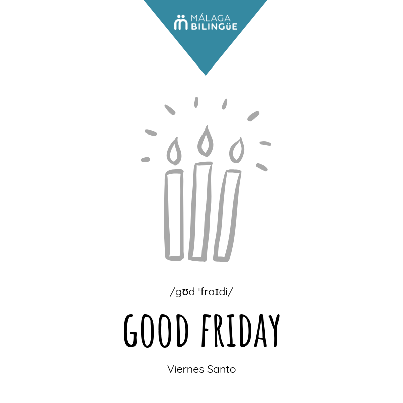 &#39;Good Friday&#39; - Viernes Santo #MalagaBilingue #vocabulario #English #Spanish #FelizFinde <br>http://pic.twitter.com/YVHWVNsrHX