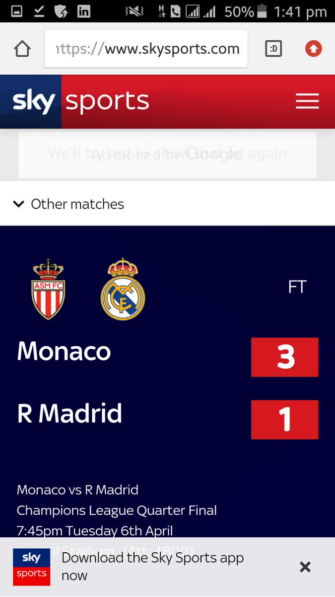 Also Monaco... beat real madrid and lost to Fc Porto  Next to the drake photo curse is beating Madrid in the knockout rounds. ..