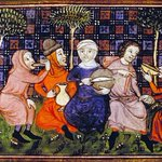 Image for the Tweet beginning: During the Middle Ages, villagers