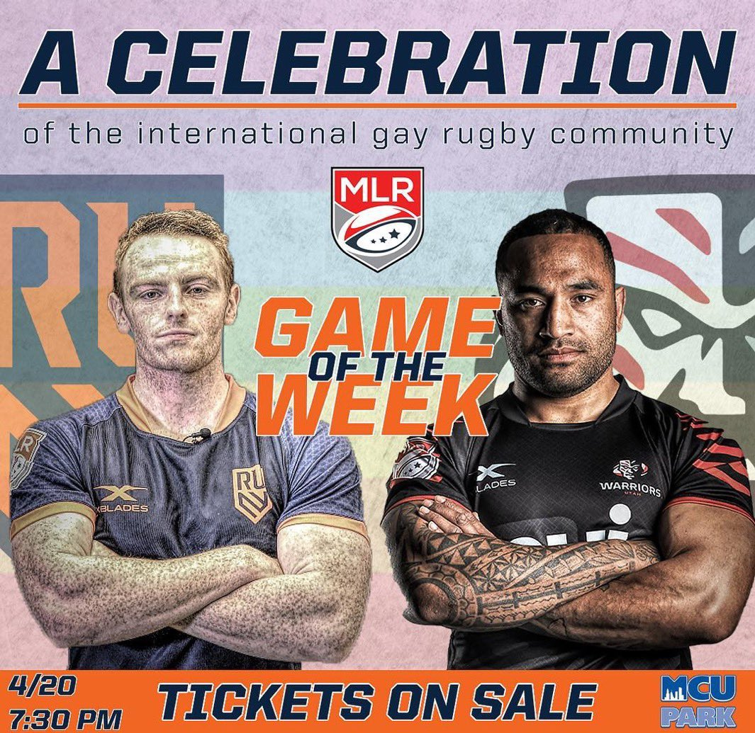 This Saturday night is gonna be a party 🔷🔶 Secure your tickets at the link in our bio. Lot of fun tricks up our sleeves 😎😏 #PrideNight #UniteTheEmpire #IGR 📸: Utah Warriors