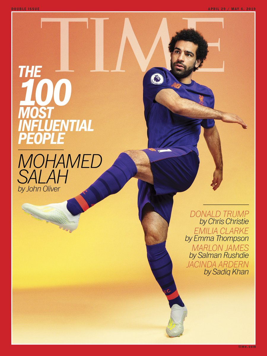 ".@iamjohnoliver: ""@MoSalah is a better human being than he is a football player. And he's one of the best football players in the world"" #TIME100 http://mag.time.com/SaPyeXJ"