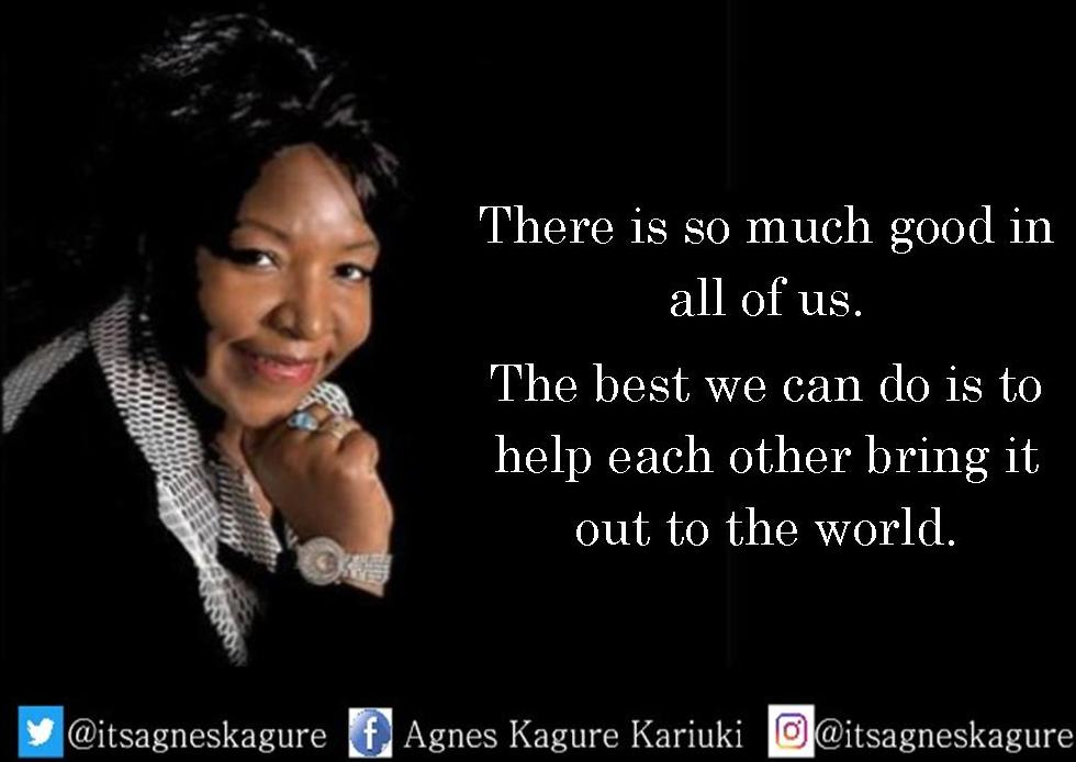 Agnes Kagure's photo on #wednesdaymotivation