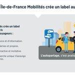 Image for the Tweet beginning: Île-de-France Mobilités encourage les nouvelles