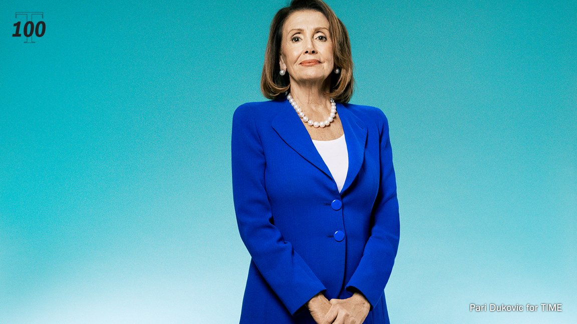 ".@SpeakerPelosi: ""I think it's really important for women to see women taking credit."" #TIME100 http://mag.time.com/9aJEsmC"