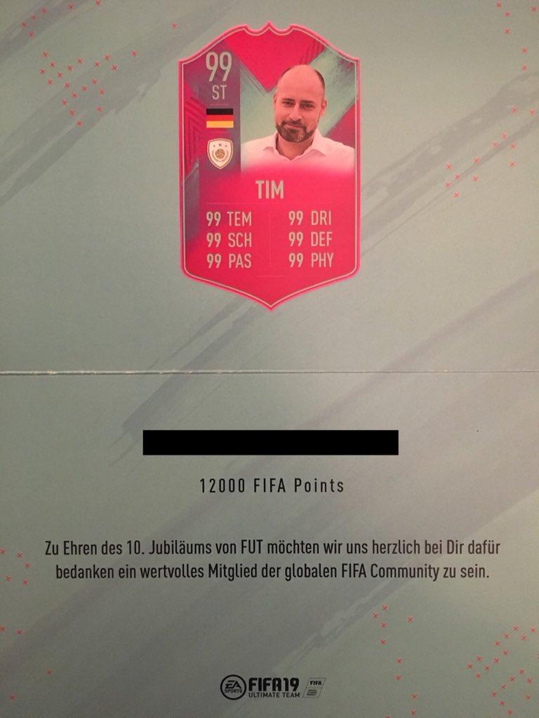 12.000 FIFA Points für PS4 zu gewinnen! Danke an @EAFussball , habe mich sehr gefreut 😃 Retweet und Follow um teilzunehmen! Auslosung nächste Woche! Viel Glück! 🤞🏼#Werbung