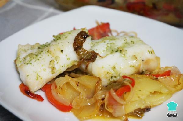 Recetas Gratis On Twitter Bacalao Al Horno Con Verduras