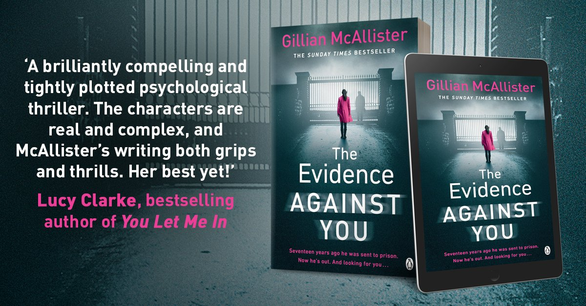 The Evidence Against You is out TOMORROW in ebook, audio and paperback!! Want it to drop through your letterbox on publication day? Order below...   http://bit.ly/TEAYPB
