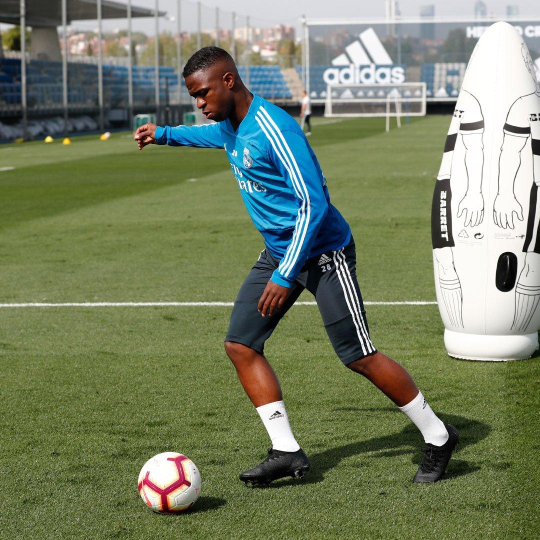Vinicius s'entraîne à nouveau avec le Real