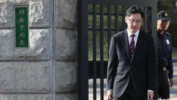 김경수 석방 사진