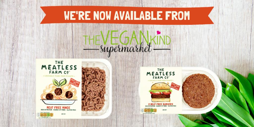 🌱 There are now even more ways to shop for @MeatlessFarm as you can now find our products on @thevegankind online supermarket 🌱 Click through to check it out here 👉 https://www.thevegankindsupermarket.com/pages/search-results-page?q=meatless+farm&page=1&rb_vendor=Meatless+Farm+Co…