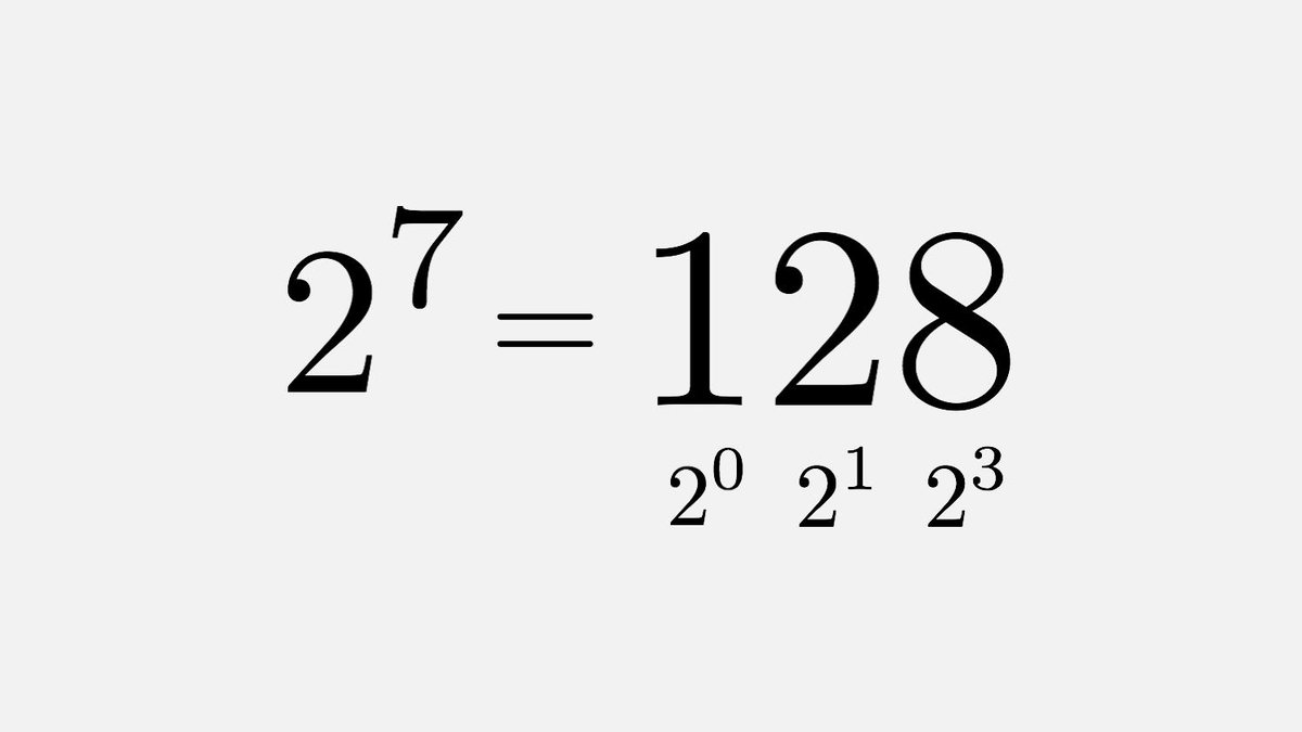 It is unknown if there are any other powers of 2 whose digits are also powers of 2, apart from 128