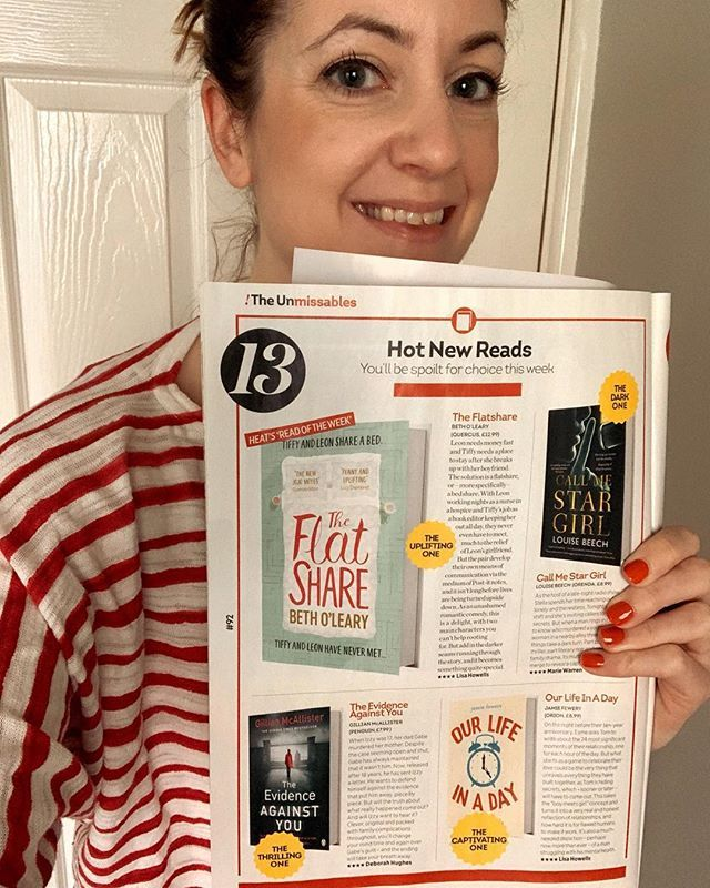 """When Heat magazine says of your book: """"clever, original, and the ending will take your breath away."""" It's out TOMORROW in ebook and paperback! Link in my bio to order. Help a gal hit the bestseller lists! http://bit.ly/2ZljsuO"""