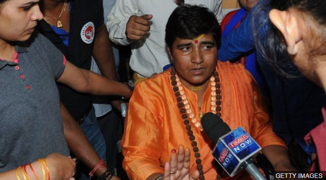 Sadhvi Pragya: India terror accused gets ruling party poll ticket https://t.co/8a9UDlmtlo https://t.co/msINfqpEEF